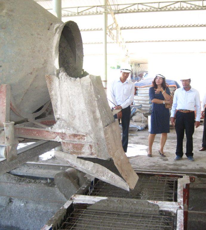 Công ty Busadco: Sản xuất bê tông cốt thép thành mỏng