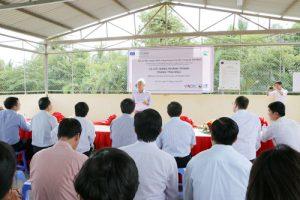 Lễ Khánh thành Trang trại mẫu tại Trung tâm Nghiên cứu ứng dụng Thủy sản công nghệ cao (Dự án SUPA)
