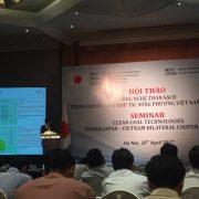 Hội thảo Công nghệ phát điện hiệu suất cao ít phát thải